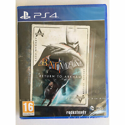 Batman Return to Arkham (PS4) inc Arkham Asylum & Arkham City New and Sealed