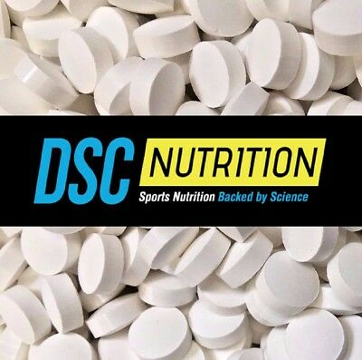 Caffeine Tablets 200mg - 100 pills - MAX STRENGTH - Not capsules - DSC Nutrition