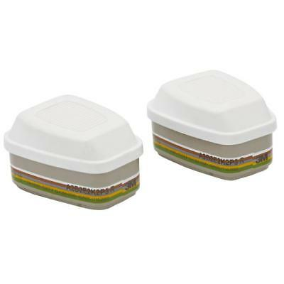 3M ABEK2P3R Filter Bayonet Fitting System White Ref 6099 [Pair]