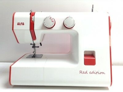 Maquina Coser Alfa Red Edition 4388319