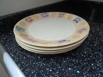 Marks And Spencer Wild Fruits Dinner Plates X 4