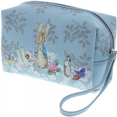 OFFICIAL Beatrix Potter Peter Rabbit Classic Print Toiletry Wash Bag (NEW)
