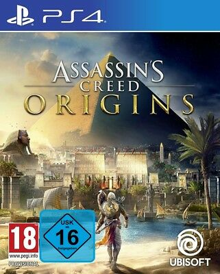 Assassins Creed Origins PS4 Spiel Assassin's Creed Deutsch Playstation 4 NEU OVP