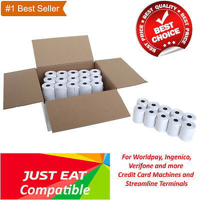 Just eat compatible 57x40mm machine till credit card,pdq thermal paper rolls
