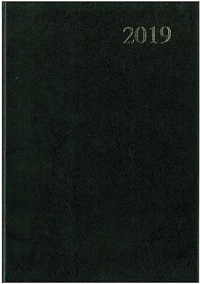 A5 Week to View 2019 Diary Collins Essential Black