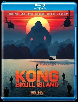 KONG SKULL ISLAND (2017) BLU RAY, con Tom Hiddleston - NUOVO, SIGILLATO