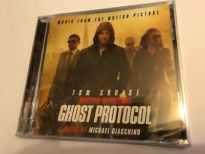 MISSION IMPOSSIBLE: GHOST PROT... (Giacchino) OOP Score Soundtrack OST CD SEALED
