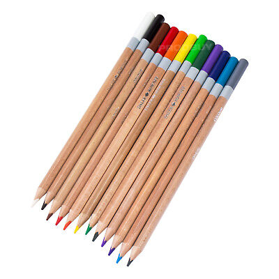 Daler-Rowney Pack of 12 Colouring Pencils Mixed Colour For Adults Art Sketching
