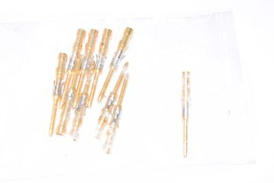 Lot of 10 NEW TE Connectivity AMP Connectors 202507-1 CONN PIN 16-18AWG GOLD CRI