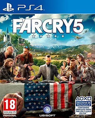 Far Cry 5 Uncut PS4 Spiel NEU OVP FarCry 5 Playstation 4