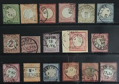 Germany Early issues 1872-1875 Used