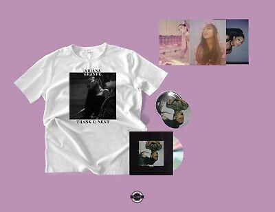 Ariana Grande Thank U, Next Bundle 1 T-Shirt, CD  (Pre-order) Sweetener