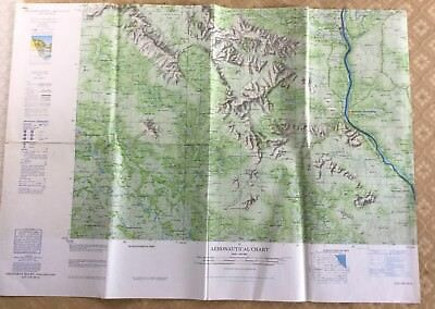 RAF Aeronautical Chart Map War Office Military  Changwat Roi Laos Thailand