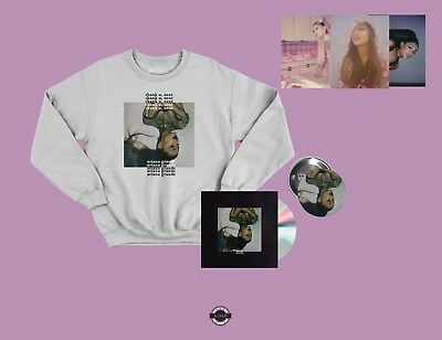 Ariana Grande Thank U, Next Bundle 5, Sweatshirt, CD  Sweetener