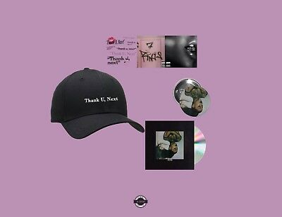 Ariana Grande Thank U, Next Bundle 6, Hat, CD  Sweetener