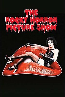 ~~ Rocky Horror Picture Show Lips 24X36 Poster ~~