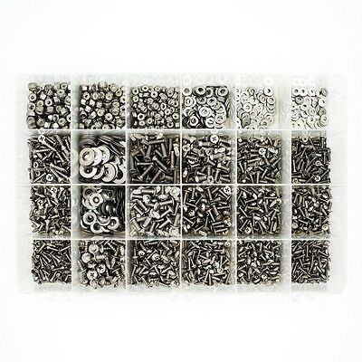Aircraft hardware 2400pc stainless assortment