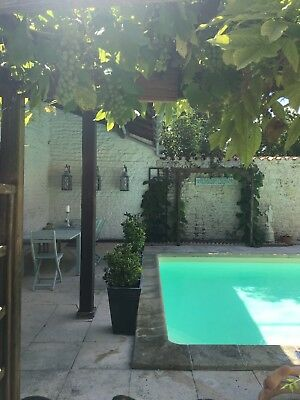 Dog Friendly holiday let Poitou Charente private pool 1 hour from ile de Re