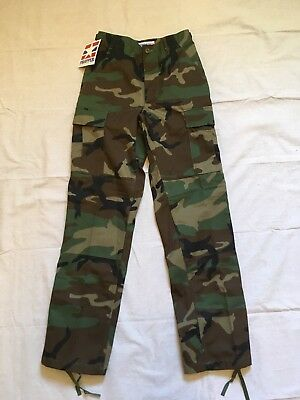 NWT Propper BDU Trouser 9500 Button Fly camouflage camo XSmall Regular