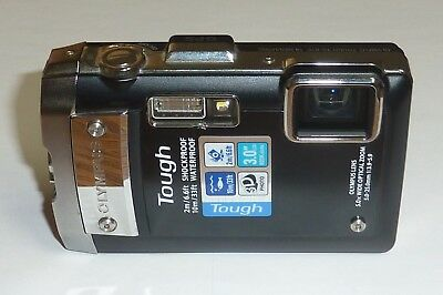 Olympus Tough TG-810 14.0MP Digital Camera - WORKS PERFECTLY, major blemishes