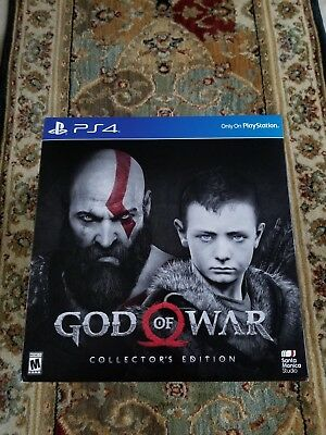 God of War: Collector's Edition (Sony PlayStation 4, 2018) PS4 New Sealed
