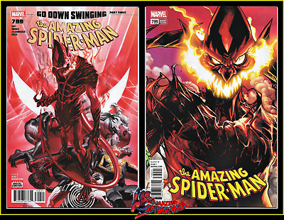Amazing Spider-Man #799 1St Print Variant Set Ross Ramos Red Goblin Marvel Nm