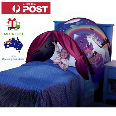 the latest 6975f 700fa DREAM TENT UNICORN Fantasy for Kids, Magical, Foldable Bed Tent, by OGB  solution