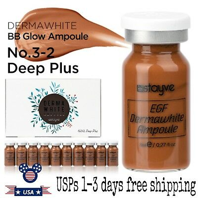 Stayve BB Glow EGF Dermawhite Ampoule Serum NO. 3-2 Deep-PLUS 10 pcs