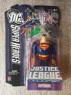 DC Super Heroes Justice League Unlimited SUPERMAN Figure with Kryptonite