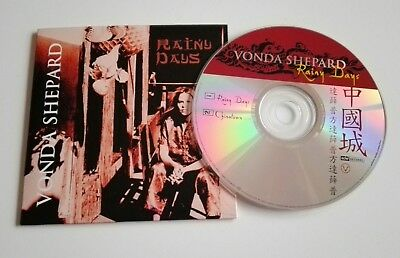 Vonda Shepard 'Rainy Days' CD Single Promo 2002 Mariah Carey