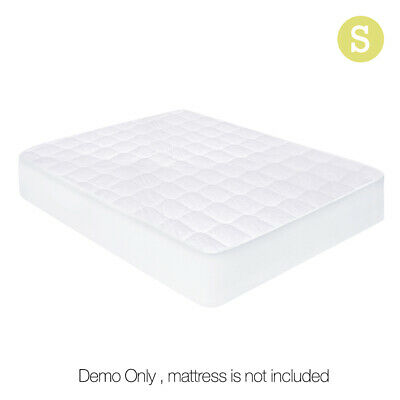 Giselle Bedding Fully Fitted Cotton Cover Quilted Bed Mattress Protector SINGLE