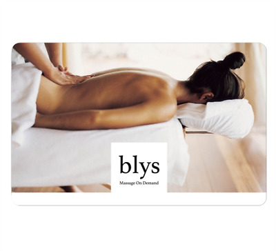Blys Gift Cards $50, $100, $200 - Digital Gift Card