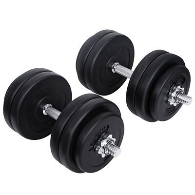 Everfit 30KG Dumbbell Set Weight Dumbbells Plates Home Gym Fitness Exercise