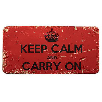 Official Keep Calm And Carry On bar runner mat beer drip mat pub birthday gift