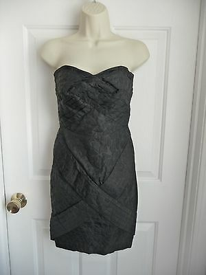 2df0ed916d Jean Paul Gaultier For Target Dress Junior 5 Black Strapless Textured Party  Sexy