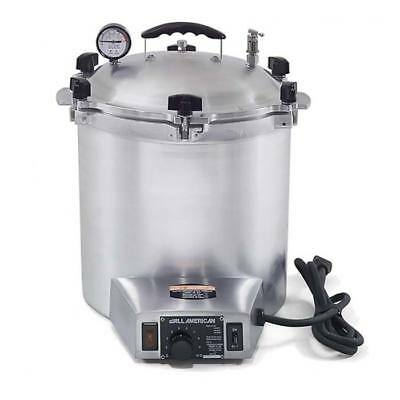 ALL AMERICAN 50X Electric Small 25 Quart Benchtop Autoclave Sterilizer 240V