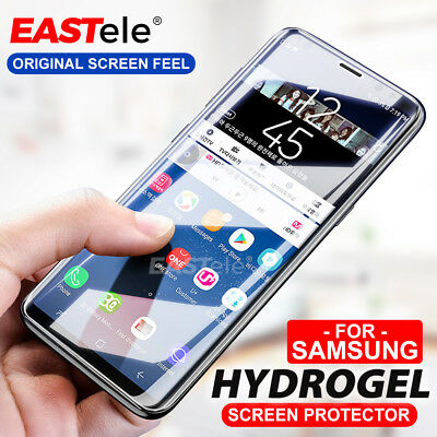 3xEASTele HYDROGEL AQUA Screen Protector Samsung Galaxy S10 5G S9 S8 Plus Note 9