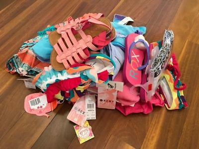 Free Post Girls ALL NEW Bulk Summer Clothing Size 6,15 Items,Roxy,Seafolly
