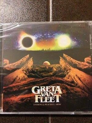 Greta Van Fleet - Anthem Of The Peaceful Army Cd (Factory Sealed)