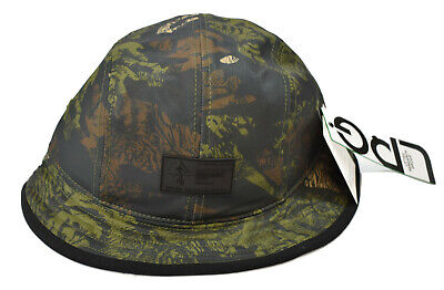 LRG Lifted Research Group Mens Savage Safari Black//Camo Bucket Cap Hat New L//XL