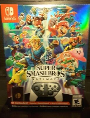 Super Smash Bros Ultimate Special Edition - NEW, SEALED