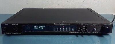 Sanyo Plus T55 PLL Memory Synthesized Stereo Tuner #816