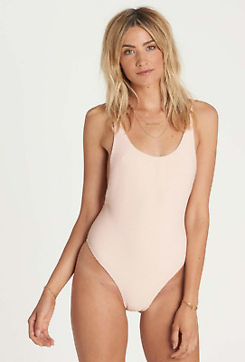 a1653c3dd8c Billabong Junior's Tanlines One Piece Swimsuit, Barely Blush Nude, Size  Medium