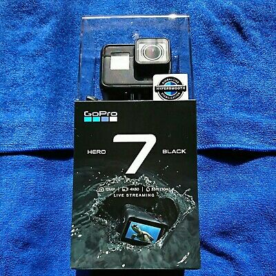 2018 NEW GoPro HERO 7 Black CHDHX-701-FW Black wearable action camera from japan