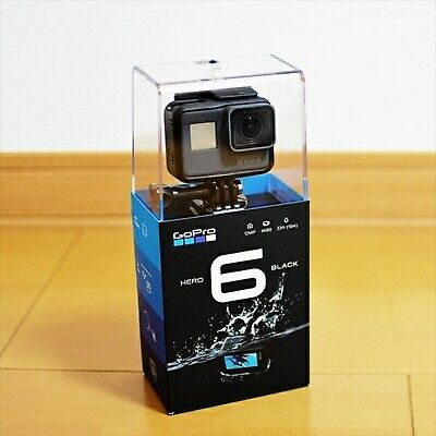GoPro HERO6 Black wearable camera CHDHX-601-FW NEW