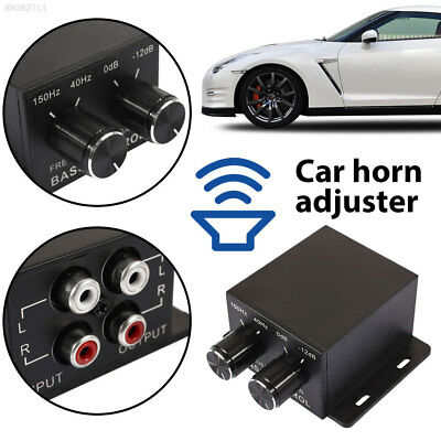 695B Volume Control Amplifier Controller Bass Boost Home Crossover Level Car