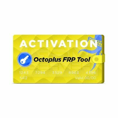 Octoplus Box Frp Tool Activation ( Fast Activation )