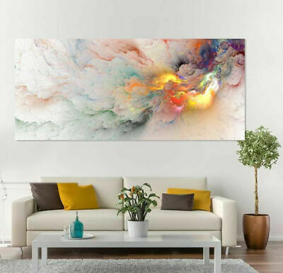 COLORFUL ABSTRACT  HIGH QUALITY WALL DECOR PictureS Art Canvas choose your size