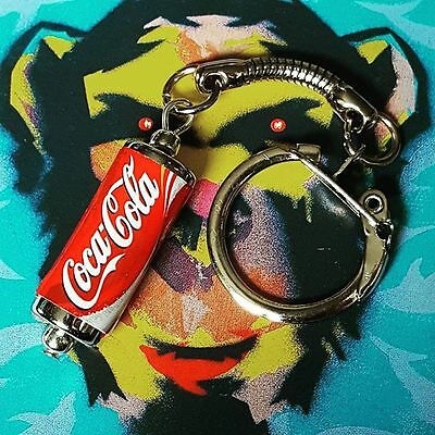 Cool DIET COKE CAN NECKLACE novelty SODA drink COCA COLA mixed up dolly HANDMADE
