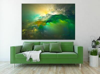 WATERCOLOR HIGH QUALITY ABSTRACT WALL DECOR PictureS Art Canvas choose your size